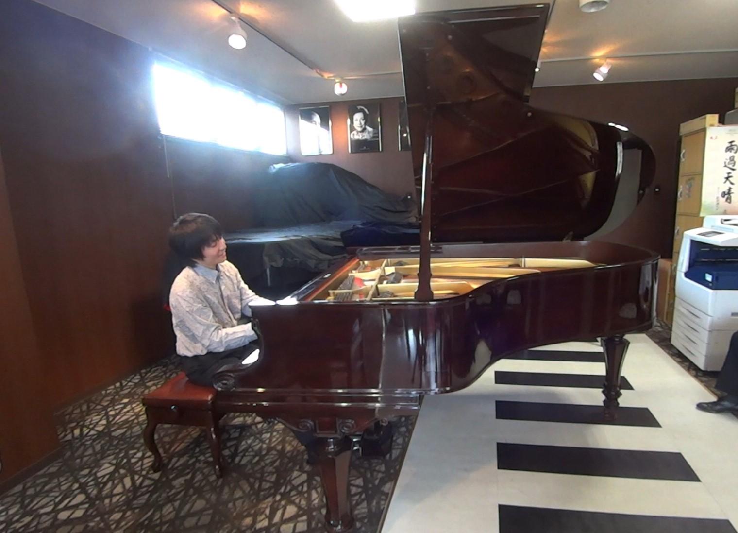 内藤晃先生 6月のピアノ個別レッスン講座終了